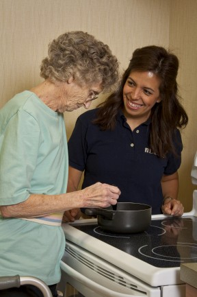 The Laurels of Bon Air: Occupational Therapy Kitchen